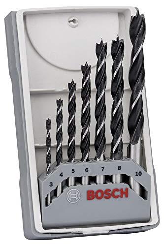 Preisvergleich Produktbild Bosch Holzbohrerset 3-10 mm 7-teilig,  in Kassette