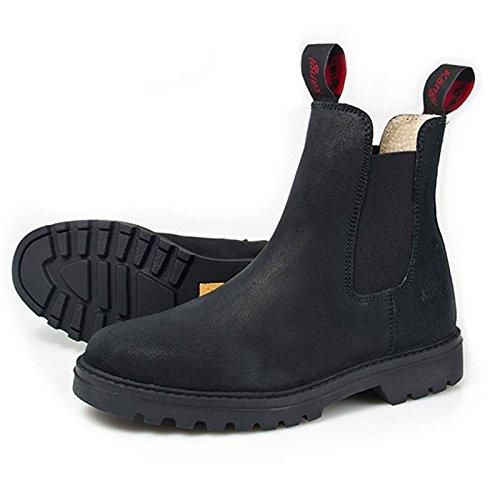 Hobo Kängi Stiefelette Größe: 43 Farbe: schwarz