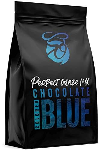 CAKEZO | PERFECT GLAZE Chocolate Mix BLUE, Mirror Glaze – Torten-Spiegelglasur mit hochwertiger Schokolade 2500g