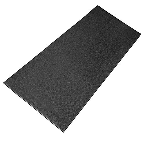 Bike Training Mat,Exercise Bike Mat Bicycle Trainer Hardwood Floor Carpet Protection Workout Mat for Indoor Treadmill,Stationary Bike Mat for Peloton Spin Bikes,Thick Mats for Exercise Equipment