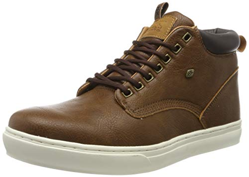 British Knights Herren Wood Hohe Sneaker, Braun (Brown/Dk. Brown 06), 44 EU