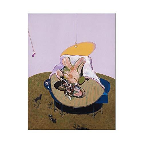 Vintage Art Mural Photos Pour Salon Francis Bacon CéLèBres Impressions Sur Toile Peinture Abstraite Affiche Et Impressions Chambre DéCor à La Maison 50 × 70 Cm Sans Cadre Thj-027-Gnd