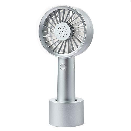 SCKL Mini-ventilator, handventilator, USB-opladen, 3 snelheden, draagbaar ontwerp, aromatherapie-box voor op kantoor
