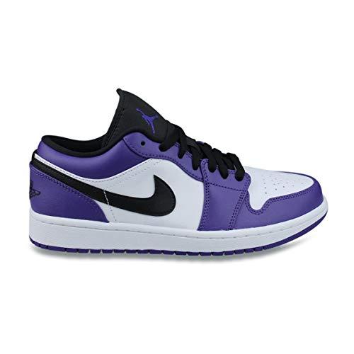 Air Jordan 1 Low Court Purple 553558-500, Morado (morado), 47 EU