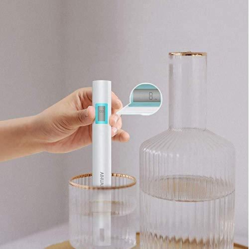 Medidor pH,Medidor TDS, EC,Medidor de PH digital 3 en 1 de calidad de agua,Prueba de Calidad del Agua 0-14 pH,0-19990ppm Calibración Automática