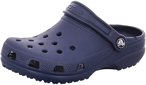 crocs Unisex-Kinder Classic Kids Clogs, Blau (Navy 410), 34/35 EU