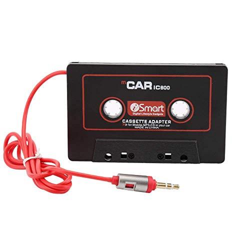 EasyULT Adattatore Stereo Audioradio per Auto,Adattatore per Cartucce con Jack da 3,5 mm per Huawei,Tablet,Sony,CD MD,Lettore MP3,Smartphone e Altro.