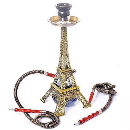 YYF Huka Paris Turm Moderne Shisha Doppelrohr-Set