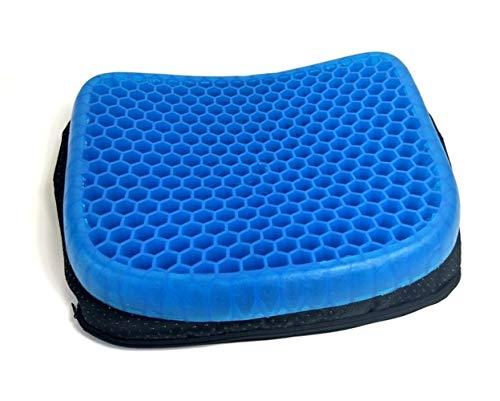 Nologo Cojín de asiento de gel elástico en forma de panal, cojín de asiento de verano, asiento acolchado transpirable para el cuidado del pain Chair Cushion