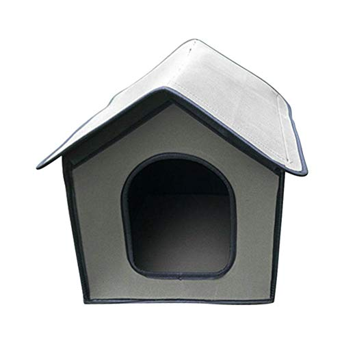 Caseta para Perros Reciclado De La Perrera Aire Libre Casa De Gato...