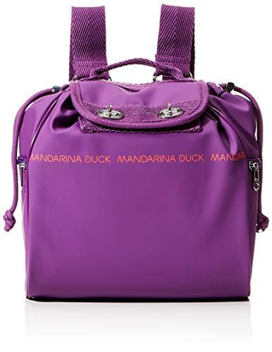 Mandarina Duck Utility, Zaino Donna, Purple, Taglia Unica