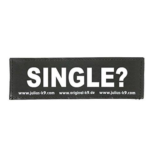 Julius K9 8151130 2 Klettsticker S. Single
