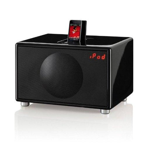Geneva Model L schwarz - Design Sound-System
