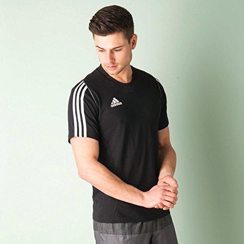 adidas Herren Shirt, Herren, schwarz - schwarz, FR : 5 (Taille Fabricant : M/L)