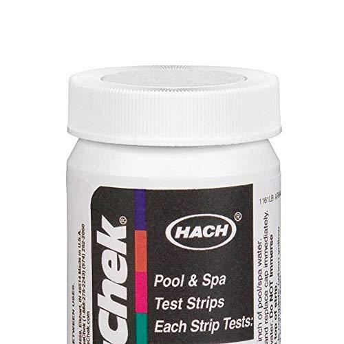 AquaChek 561161 Swimming Pool White Salt Titrators Test Kit Strips, 40 Count