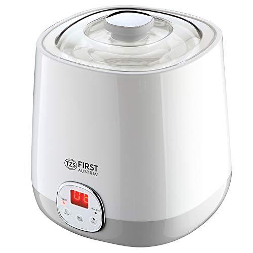 Joghurtbereiter 1 Liter mit Ricewein Funktion, 48 Stunden Timer, Joghurt Maker, yoghurt maker, 20 Watt Sojamilch geeignet