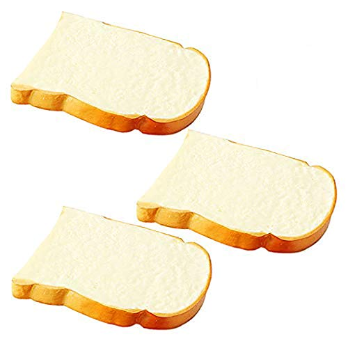 Artificial Bread Fake Bread Simulation Food Model Kitchen Prop (Toast)