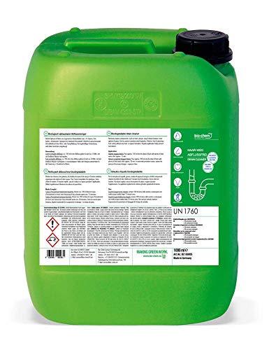 bio-chem Haar-Weg Abfluss-Frei 10 Liter + Zubehör Abflussreiniger Rohrreiniger Rohrfrei