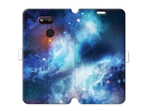 Hülle für HTC Desire 12s - Hülle Wallet Book Fantastic - Kosmos Handyhülle Schutzhülle Etui Hülle Cover Tasche für Handy