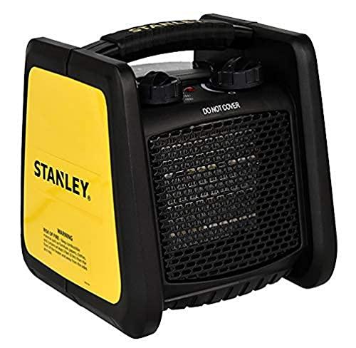 STANLEY ST1ST221A240E - Chauffage Pro en Céramique électrique pour chantier - 1800W - Fusible de sécurité