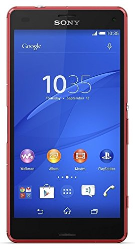 Sony Xperia Z3 Compact Smartphone, 16 GB, Arancione [Italia]