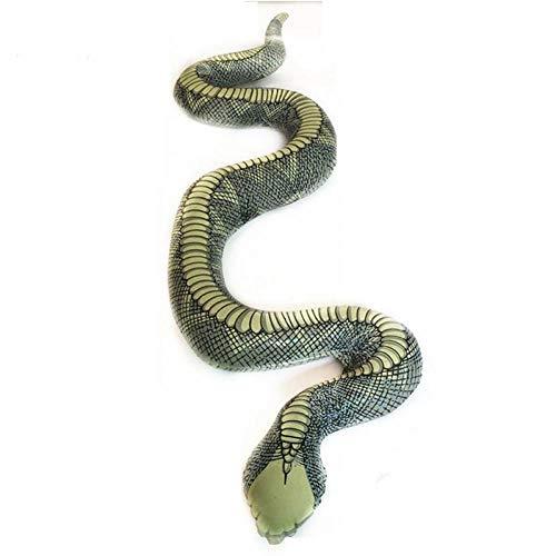 Lankater 1pc Serpiente Inflables Hinchables Animales De Fiesta De Halloween Decoración De Jardín O Piscina Prop Accesorios, 1.2m