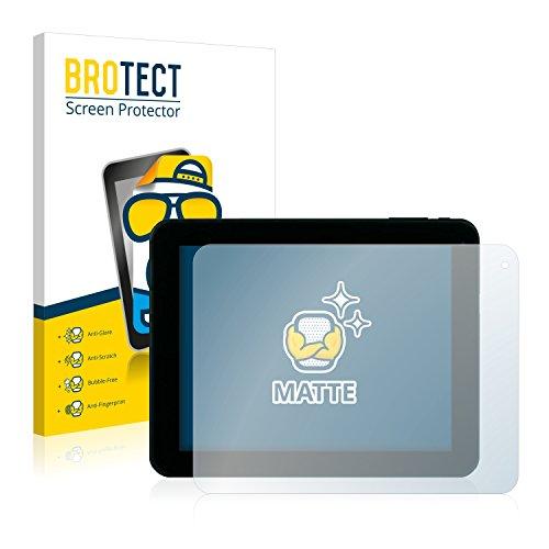 BROTECT 2X Entspiegelungs-Schutzfolie kompatibel mit Xoro TelePAD 830 Bildschirmschutz-Folie Matt, Anti-Reflex, Anti-Fingerprint