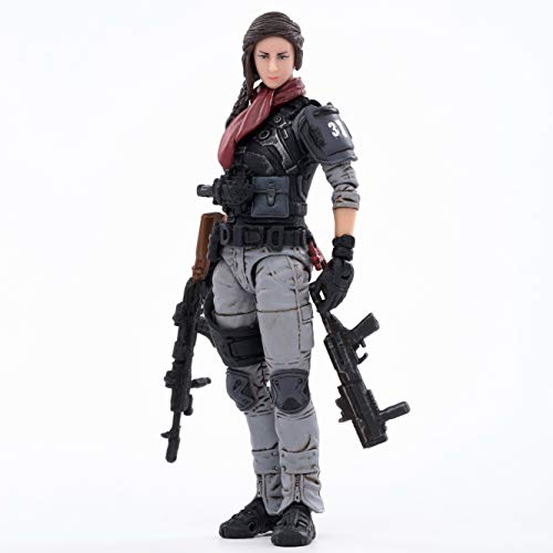 JOYTOY 1/18 Action Figures 4-Inch 37th Legion-Hermione Dark Source Collection Action Figure Military Model Toys