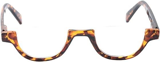 SOOLALA Womens Modern Designer Flat Top 42mm Half Lens Quality Reading Glasses