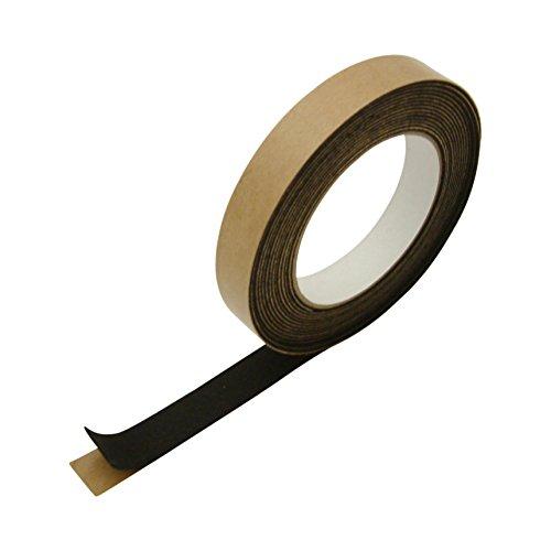 JVCC FELT-06 Polyester Felt Tape [1mm thickness felt]: 3/4 in. x 15 ft. (Black)