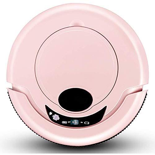 TETHYSUN Aspiradora de inducción de carga automática robot aspirador barrido y limpieza húmeda para suelos y alfombras robot de lavado (color: A)