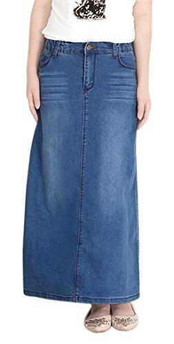 Top 10 maxi skirt denim for 2020