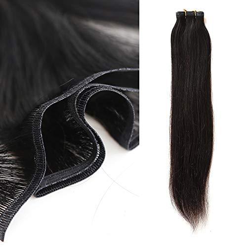 Towarm, extension di capelli umani mono, 50 g, ultra sottili, extension per capelli brasiliani vergini umani