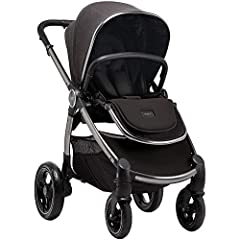Kids Child Children Babies Baby boys Baby Girls The Ocarro is pure simplicity. Ready to hit the ground rolling, it has front and rear suspension so it's easy to get around, and comfy for both of you on long journeys. It's compatible with carrycots an...