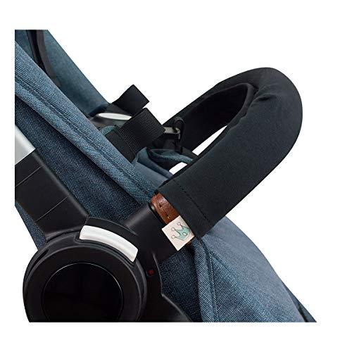 JANABEBE Housse pour Barre de Protection Poussettes (BLACK SERIES, Unipersonnel)