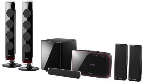 Samsung HT-X725 T 5.1 Heimkinosystem (800 Watt, Upscaler 1080p, USB 2.0, Bluetooth)