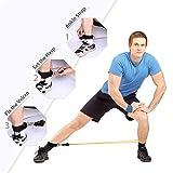 Zoom IMG-2 tomshoo 17pcs bande elastiche fitness