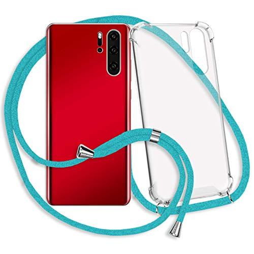 mtb more energy Collar Smartphone para Samsung Galaxy S7 (SM-G930, 5.1'') - Turquesa - Funda Protectora ponible - Carcasa Anti Shock con Correa para Hombro