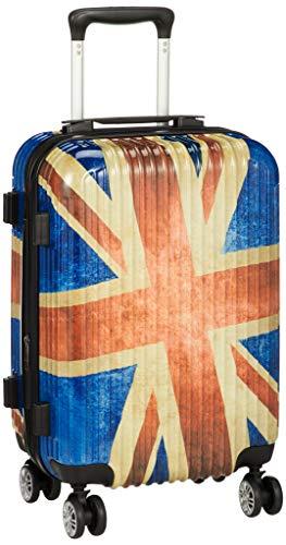 [アイダディ] 【M6051】idadi キャリーケース スーツケース 機内持ち込み可 保証付 35L 50 cm 3.1kg ユニオンレッド