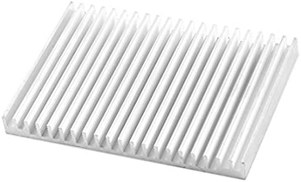 Enfriador de refrigeración del disipador de calor 5 un 28*28*15mm aleta de aluminio del disipador De Calor Del Radiador Nuevo