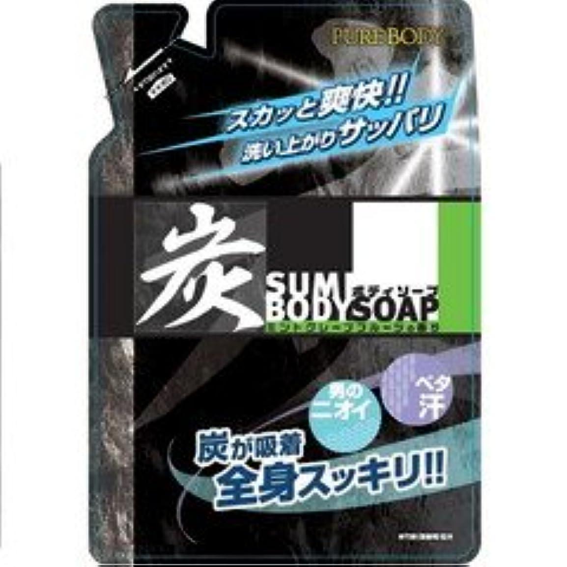 鋼ギャップ落胆する炭ボディソープ ミントグレープフルーツの香り 400ml