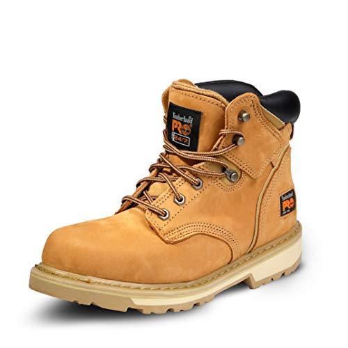 """Timberland PRO Men's Pitboss 6"""" Soft-Toe Boot,Wheat,10.5 M"""