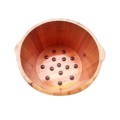 Massage Cedar Pedicure Barrels Planken Foot Tub Thicken Foot Basin Houten for voetenbad, Massage, Spa, Sauna, Soak Wood Foot doorweken Bucket