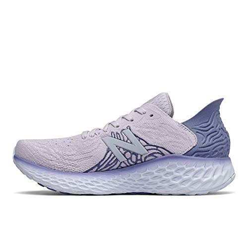 New Balance Women's Fresh Foam 1080 V10 Running Shoe, Thistle/Magnetic Blue/Moon Dust, 8.5