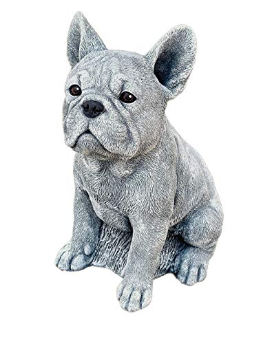 Stone and Style Steinfigur Frenchie Französische Bulldogge frostfest wetterfest