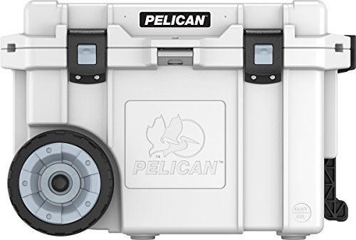 Pelican Elite 45 Quart Wheeled Cooler (White)