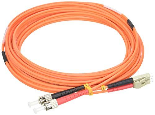 FANTON FME24274 Bifibra 5m OM2 LSZH LC-ST 5m Negro cable de fibra optica