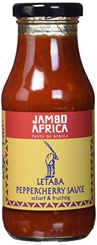 Jambo Africa Letaba Peppercherry Sauce, 6er Pack (6 x 240 ml)