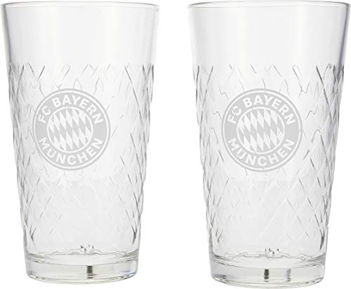 FC Bayern München Longdrinkglas 0,5 Liter 2er Set