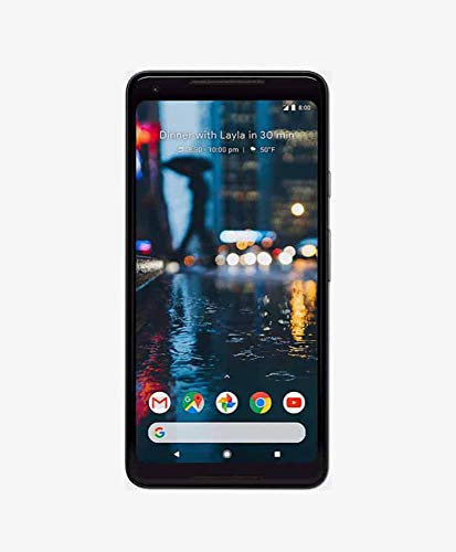 Google Pixel 2 XL 128GB - 4G LTE GSM Factory Unlocked, Google Edition - International Model - Black